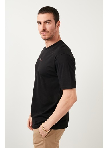 Buratti Buratti Oversize Erkek T-Shirt 5721016 Siyah